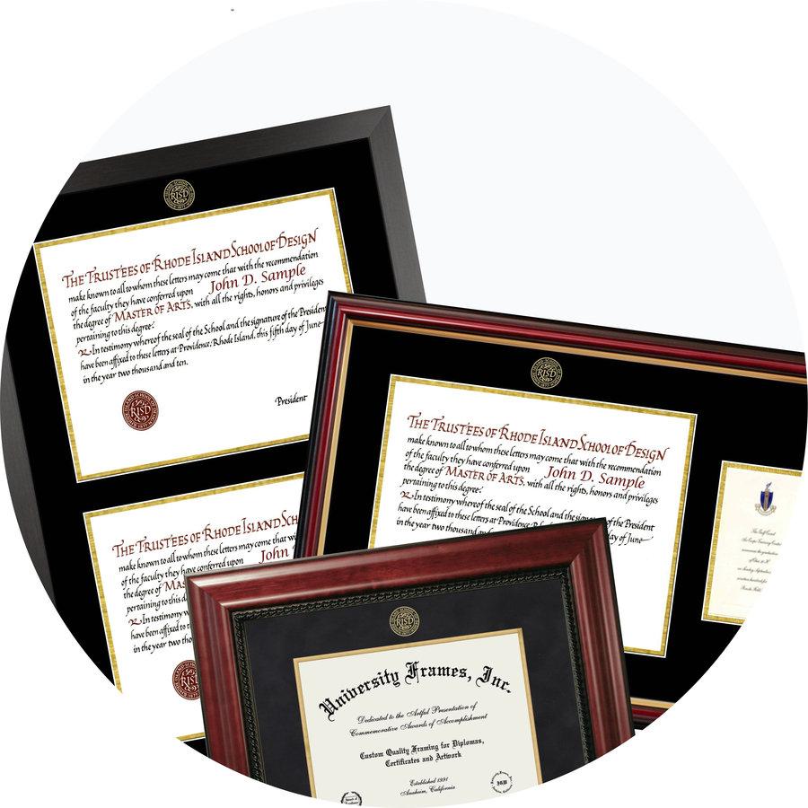Customize Your Diploma Frame