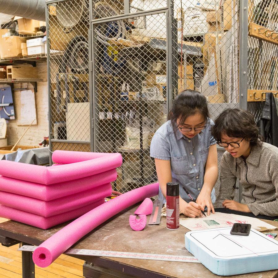 Supplies required for Leslie Fontana Industrial Design Sophomore Design Principles
