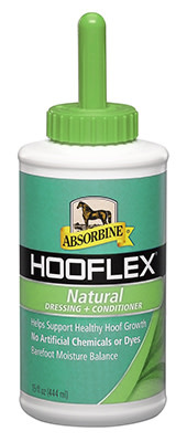 Hooflex Natural Dressing 15 oz with applicator