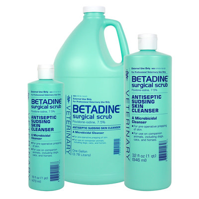 Betadine Surgical Scrub 16oz