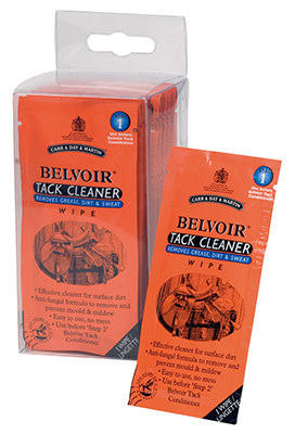CDM Carr & Day & Martin Belvoir Tack Cleaner Wipes 15 Count