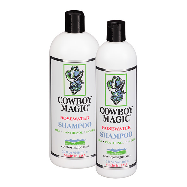 Cowboy Magic Rosewater Shampoo 16 oz