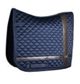 Equestrian Stockholm Leather Deluxe Dressage Pad