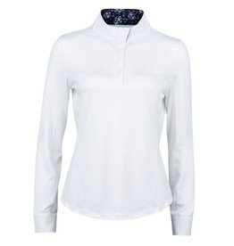 Dublin Dublin Ria Long sleeve competition shirt white