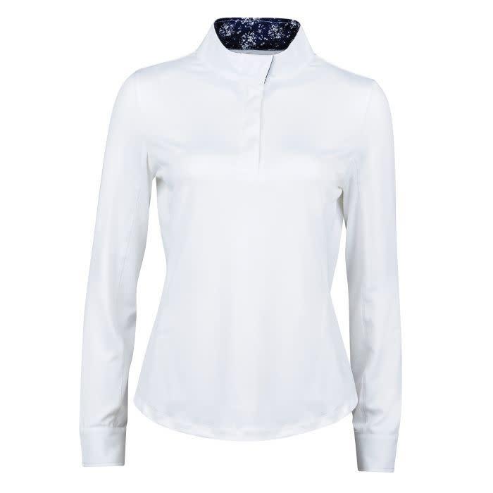 Dublin Dublin Ria Long sleeve competition shirt white