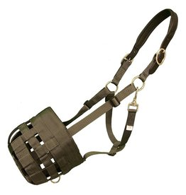 Best Friend Muzzle deluxe  leather crown