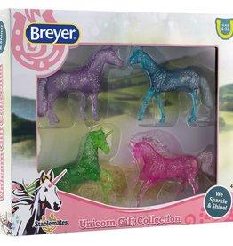 Breyer glitter unicorn gift set