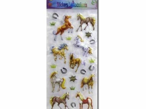 Stickers horse 3-D