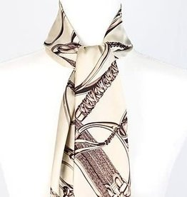 AWST Silky scarf beige