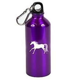 Sports bottle purple