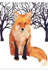 Winter Fox Coctail Napkins
