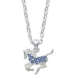 AWST AWST necklace, horse, blue