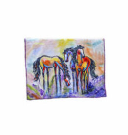Art of Riding Friends in Color Towel