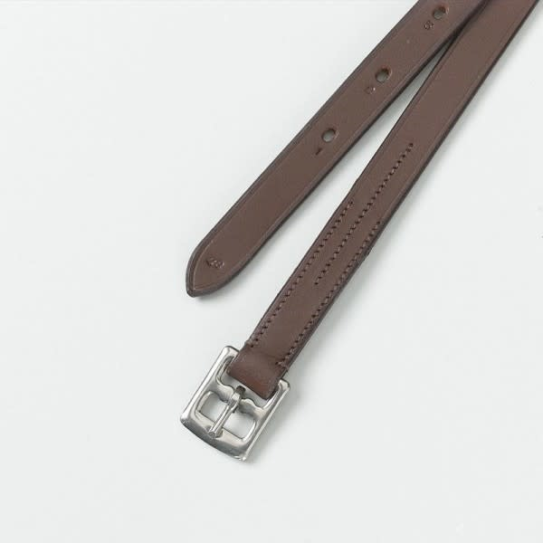 CAMELOT Camelot Solid Leather- SM CHD Brown 3/4 x 36