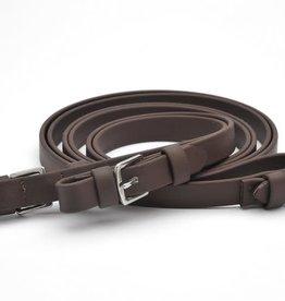 PHS PHS 3/4 Brown beta flat super grip reins