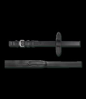 X-Line Leatherrein soft black 19
