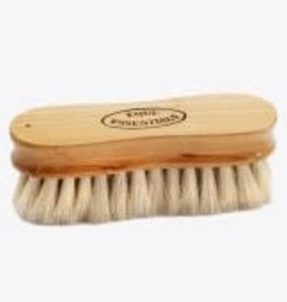 Equi-Essentials Equi-Woodback Face Brush/Goath Natural 5L-Super Soft
