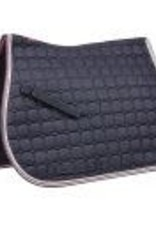 Saxon Saxon coordinate quilted full pad navy/pink