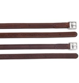 "PESSOA Covered Leather 54"" Clasp End Dark Brown 1"