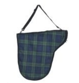 CENTAUR Centaur Classic Plaid/Fashion Saddle Carry Bag Blackwatch Plaid None