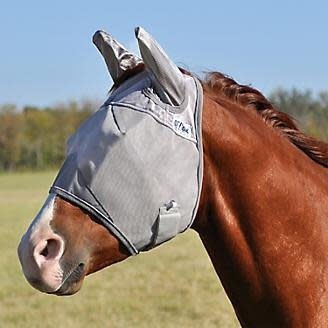 Cashel Standard with Ears fly mask