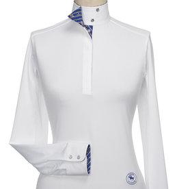 "Essex Essex ""Capezza"" Ladies Talent Yarn Wrap Collar Show Shirt"