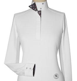"Essex Essex ""Fox"" Ladies Talent Yarn Wrap Collar Show Shirt"