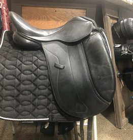 "17.5"" Collegiate Dressage, Med Tree"