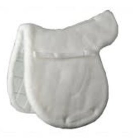 OVATION OV Quilted Bottom Hunter Pad White Close Contact