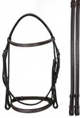 Bobby's Signature Series Raised Fancy Stitched Snaffle Bridle