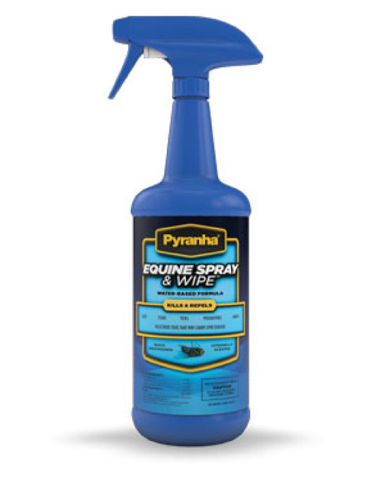 Pyranha Spray and wipe