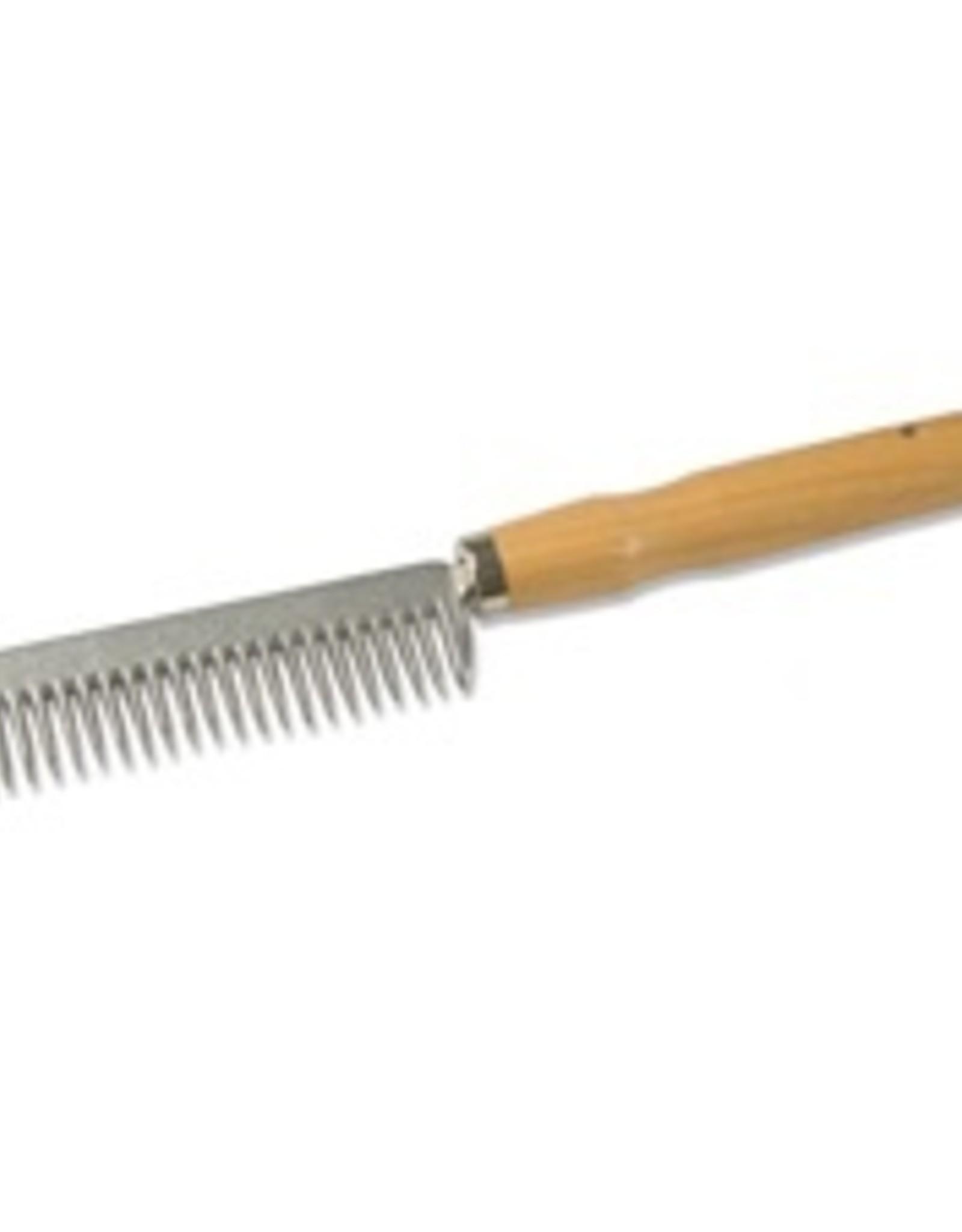 wooden handle mane comb
