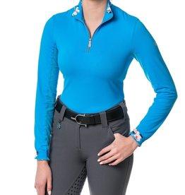 Kastel Long sleeve 1/4 zip rose Gold