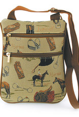 Cross Body Purse, Riding Tapestry
