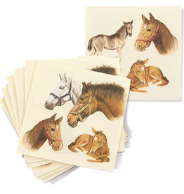 Lunch Napkin Equestrian Family