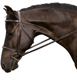Flex Rider Flex Rider Raised Bridle, Fancy Stitch, Chocolate