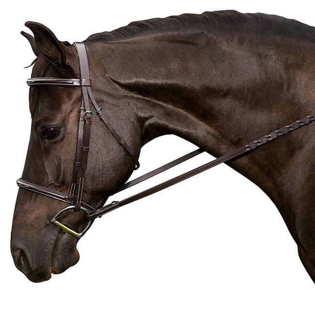 Flex Rider Flex Rider Raised Bridle, Fancy Stitch, Chocolate