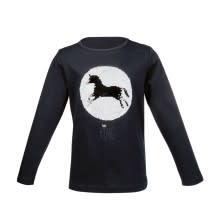 HKM LS Horse Sequine Shirt