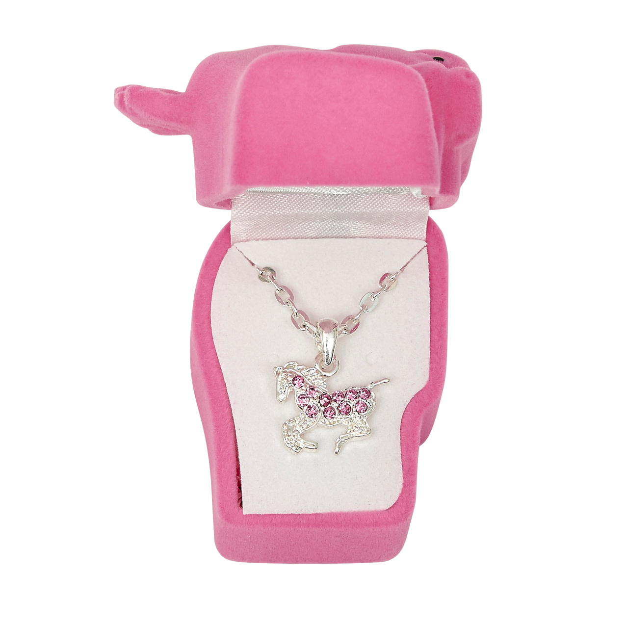 AWST AWST Horse Necklace, With Horsehead Gift Box