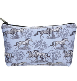 AWST Cosmetic Pouch Blue Toile