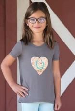 Irideon Kids Flip Sequin Heart Tee (Final Sale $20.00)