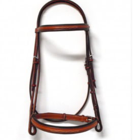 "Edgewood Edgewood 3/4"" Fancy Padded Bridle"