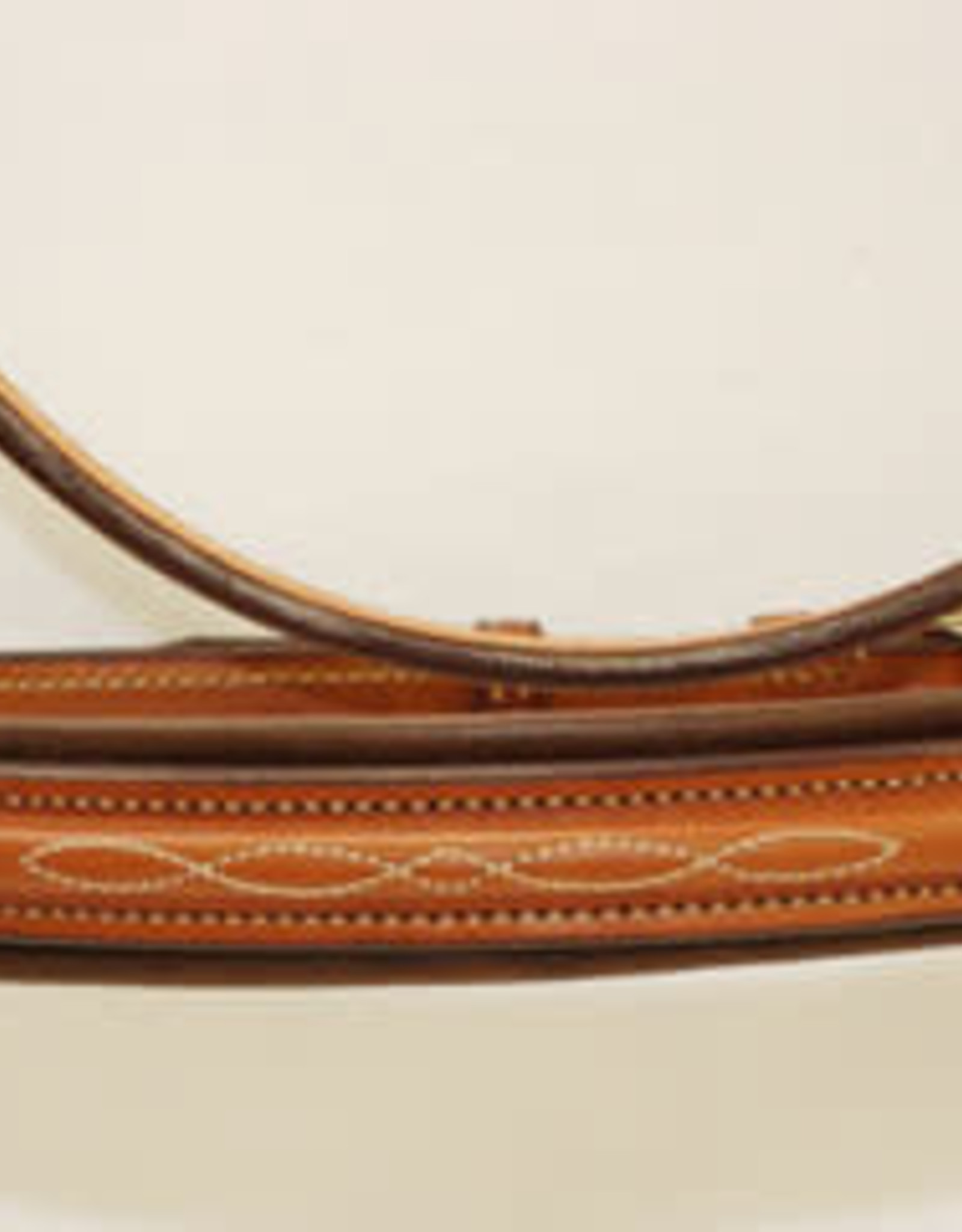 "Edgewood Edgewood 3/4"" Fancy Raised Padded Bridle Padded Crown"