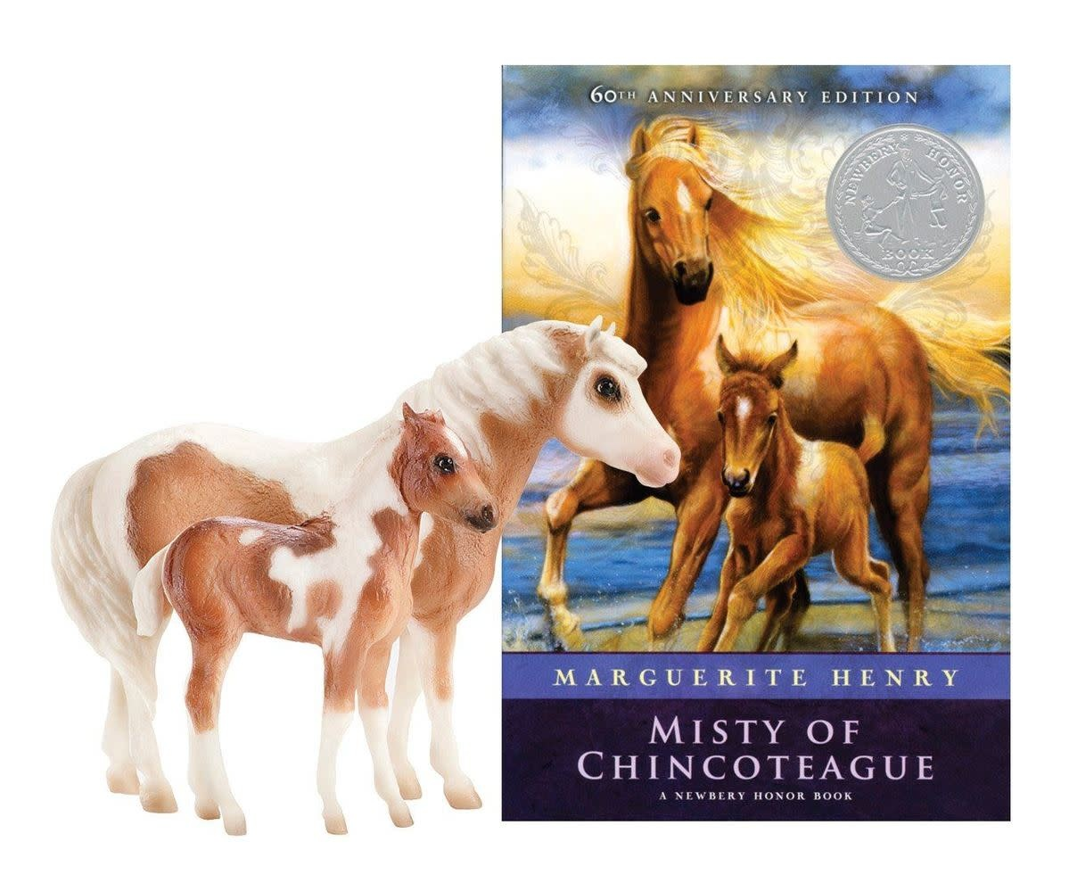 Breyer Misty and Stormy With Book