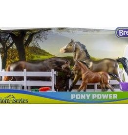 Breyer Breyer Pony Power Classic 3 Horse Set