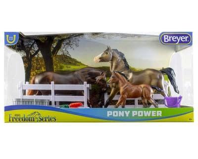 Breyer Breyer Pony Power Classic 3 Horse Set