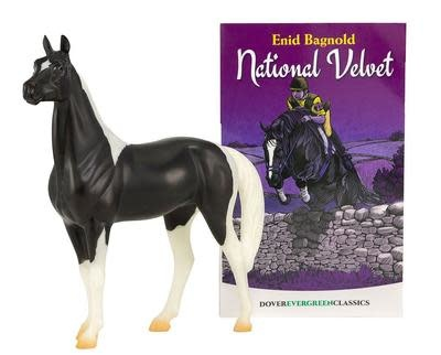 Breyer Breyer National Velvet Horse and Book