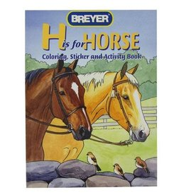 Breyer Breyer Coloring Activity Sticker Book