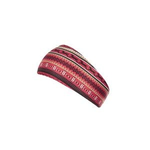 Fair Isle fleece headband