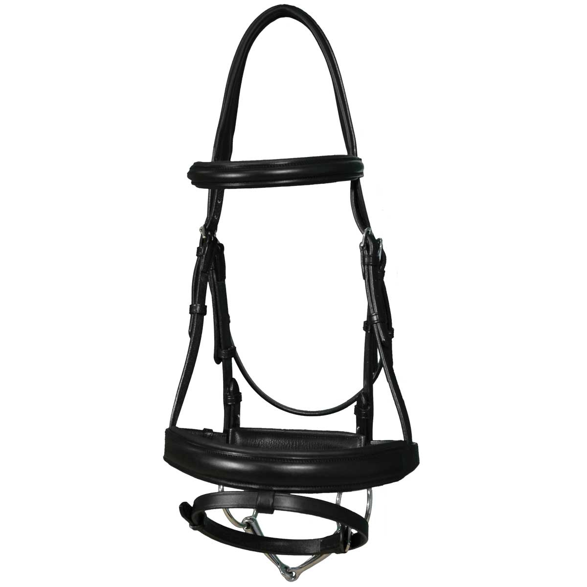 Traditional Dressage Snaffle Bridle
